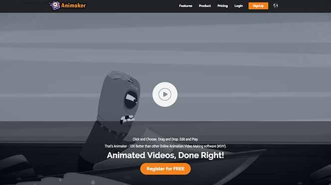 Création vidéo Animaker